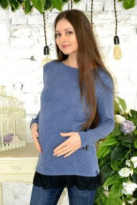 Джемпер для беременных и кормящих