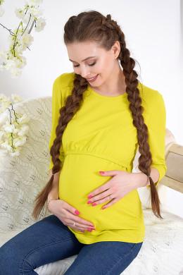 Лонгслив для беременных и кормящих