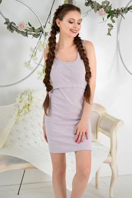 Платье для кормления  (из рибаны)