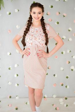"""Платье домашнее """"Зайцы"""""""