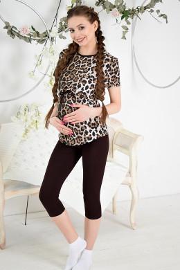 """Набор для дома для беременных и кормящих мам """"Леопард"""""""