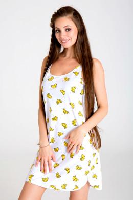 """Туника-майка женская """"Бананы"""""""